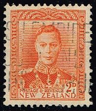 Buy New Zealand #258 King George VI; Used (3Stars) |NWZ0258-02
