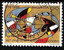 Buy SCHWEIZ SWITZERLAND [1988] MiNr 1368 ( O/used ) Kunst