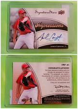 Buy MLB ANDREW CARPENTER PHILADELPHIA PHILLIES AUTOGRAPHED 2009 U.D. SIGNATURE STARS