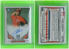 Buy MLB JACOB JOHANSEN WASHINGTON NATIONALS AUTOGRAPHED 2014 BOWMAN 1st ROOKIE MNT