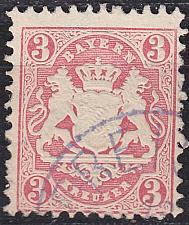 Buy GERMANY Bayern Bavaria [1870] MiNr 0023 X ( O/used ) [02]