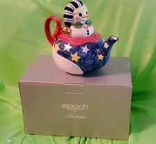 Buy Epoch Collection Noritake Mr. Snowman E115 Tea Pot NOS