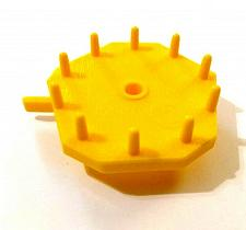 Buy Mouse Trap Board Game Gear Replacement Part #5 Yellow Milton Bradley 1999