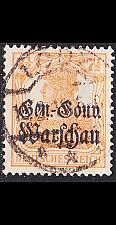Buy GERMANY REICH Besetzung [Polen] MiNr 0009 a ( O/used ) [01]