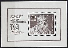 Buy GERMANY DDR [1974] MiNr 1962 Block 40 ( **/mnh ) Gemälde