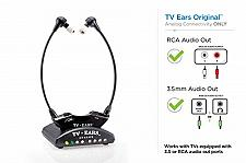 Buy TV Ears Original Wireless Headsets System, TV Hearing Aid Devices works best TV