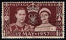 Buy Great Britain #234 George VI and Elizabeth; Used (0.25) (1Stars) |GBR0234-05XRS