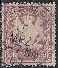 Buy GERMANY Bayern Bavaria [1900] MiNr 0068 ( O/used ) [01]