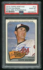 Buy 2014 TOPPS HERITAGE REAL ONE AUTO KEVIN GAUSMAN, PSA 10 GEM MINT (29039555)
