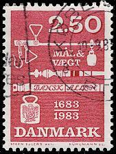 Buy Denmark #740 Weights & Measures Ordinance; Used (4Stars) |DEN0740-04XBC