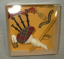 Buy Figural Tartan Scottish Bagpipes Whisky Bottle Pourer Novelty Gift Sealed