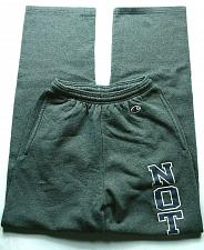 Buy Champion Women's Notre Dame University Spell Out Size XS Stretch Gray Drawstring