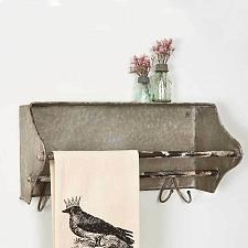 Buy Towel Bar Bath Kitchen Hooks Rustic Vintage Country Farmhouse Bathroom Decor New
