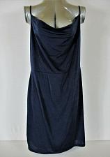 Buy MADISON & BERKELEY womens Sz XXL sleeveless navy COWL NECK mini dress NWT (B5)P