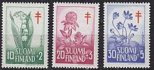 Buy FINLAND SOUMI [1958] MiNr 0493-95 ( **/mnh ) Pflanzen