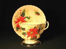 Buy Vintage Teacup and Saucer Royal Albert Vintage Christmas Gilt Trim Yuletide