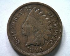Buy 1895 INDIAN CENT PENNY EXTRA FINE XF EXTREMELY FINE EF NICE ORIGINAL COIN