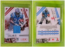 Buy NFL DeAngelo Williams Carolina Panthers 2009 Panini Rookie Jersey /299 Mint