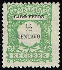 Buy Cape Verde #J21 Postage Due; Unused (3Stars) |CPVJ21-07XRS