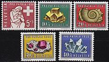 Buy SCHWEIZ SWITZERLAND [1958] MiNr 0657-61 ( **/mnh ) Pro Patria