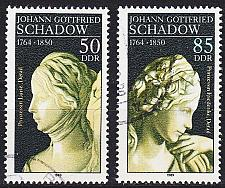Buy GERMANY DDR [1989] MiNr 3250-51 ( OO/used ) Kunst
