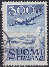 Buy FINLAND SOUMI [1950] MiNr 0384 ( O/used ) Flugzeug