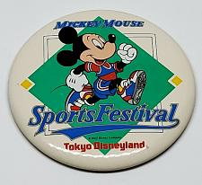 Buy AUTHENTIC DISNEYLAND TOKYO MICKEY MOUSE 3 INCH COLLECTIBLE PINBACK BUTTON RARE