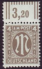 Buy GERMANY Alliiert AmBri [1945] MiNr 0018 D ( **/mnh )