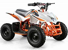Buy Electric Battery 24V White Four Wheeler Kids Boys Girls Mini Quad ATV Dirt Bike