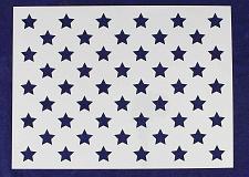 "Buy 50 Star Field Stencil 14 Mil -16.5""W X 12.25""H - Painting /Crafts/ Templates"
