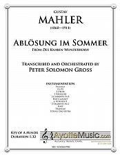 Buy Mahler - Abloesung im Sommer
