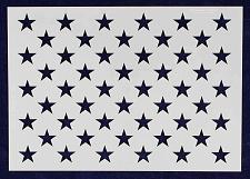 "Buy 8"" x 11.29"" G-Spec 50 Star Field Stencil -14 Mil -Painting /Crafts/ Templates"