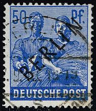 Buy Germany #9N13 Reaping Wheat; Used (2Stars)  DEU9N013-01XRP