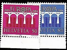 Buy SCHWEIZ SWITZERLAND [1984] MiNr 1270-71 ( **/mnh ) CEPT