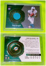 Buy Nfl Mike Gillislee Miami Dolphins 2013 Topps Chrome Rookie Game-worn Jersey Mint
