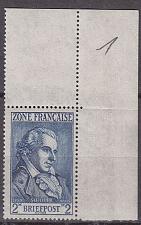 Buy GERMANY Alliiert Franz. Zone [Allgemein] MiNr 0012 ( **/mnh ) [01] Eckrand