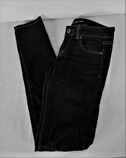 Buy LOVE CULTURE womens Sz 1 W27 L30 black denim dark wash STRETCH jeans (B5)