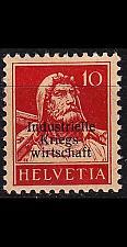Buy SCHWEIZ SWITZERLAND [DienstKrieg] MiNr 0004 I ( */mh ) [01]
