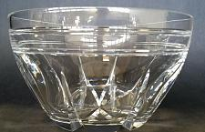Buy Hand cut lead crystal bowl custom Signed O'ROURKE