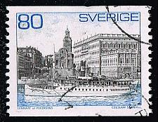 Buy Sweden #749 Steamer and Royal Palace; Used (3Stars) |SVE0749-03