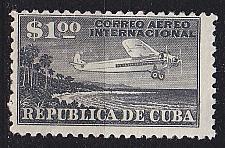 Buy KUBA CUBA [1931] MiNr 0087 ( O/used ) Flugzeug