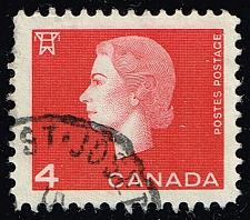 Buy Canada #404 Queen Elizabeth II and Electric Tower; Used (2Stars)  CAN0404-13