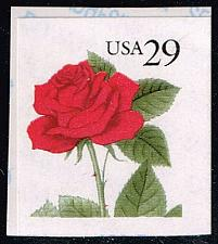 Buy US #2490 Red Rose; MNH (0.60) (4Stars) |USA2490-02