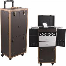Buy Brown Large Barber Trolley Scissor Clipper Trimmer Shear Equipment Organizer New
