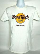 Buy Hard Rock Cafe Mens T Shirt Small Baltimore White Crew Neck Short Sleeve