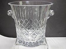 Buy Hand cut glass ice bucket 24% lead crystal Award engrave