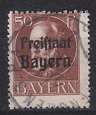Buy GERMANY Bayern Bavaria [1919] MiNr 0161 A ( O/used )