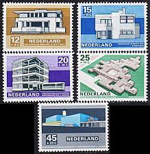 Buy NIEDERLANDE NETHERLANDS [1969] MiNr 0915-19 ( **/mnh ) Architektur