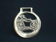 Buy Vintage Buggy Wagon Coach Horse Brass Medallion Harness Design Ornament