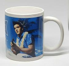 Buy Elvis Presley Wearing Lei Playing Ukulele Aloha From Hawaii Coffee Mug Cup